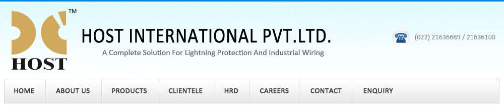 Industrial Wiring, Switchgear Accessories, Instrument Transformers, Lightning Protection System, Mumbai, India